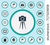 vector illustration set of... | Shutterstock .eps vector #717325858