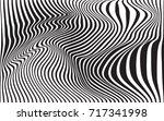 optical art abstract background ... | Shutterstock .eps vector #717341998