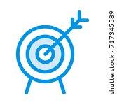 focus icon | Shutterstock .eps vector #717345589