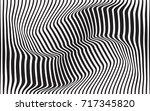 optical art abstract background ... | Shutterstock .eps vector #717345820