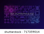 technology banner made with... | Shutterstock .eps vector #717359014