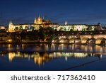 View Of The Lit Prague ...
