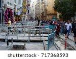 istanbul turkey september 15... | Shutterstock . vector #717368593