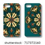 phone case design. set...   Shutterstock .eps vector #717372160