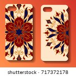 phone case design. set... | Shutterstock .eps vector #717372178