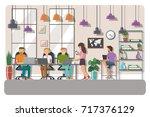 vector illustration of... | Shutterstock .eps vector #717376129