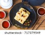 chinese traditional dessert  ... | Shutterstock . vector #717379549