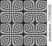 Vector Abstract Checkered...