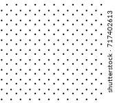 abstract hand drawn polka dot...   Shutterstock .eps vector #717402613