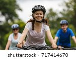 healthy lifestyle   people... | Shutterstock . vector #717414670