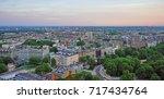 london  uk  21 may 2017  view... | Shutterstock . vector #717434764