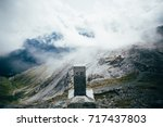 structure made of stone and... | Shutterstock . vector #717437803