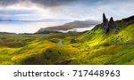 Panorama Of Old Man Of Storr...