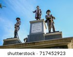 Confederate War Monument On Th...