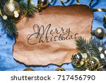 christmas holiday background | Shutterstock . vector #717456790