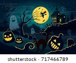 vector illustration of... | Shutterstock .eps vector #717466789