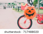 Basket For Candies On Bicycle...