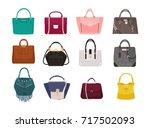 Set Of Stylish Women's Handbag...