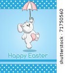 Easter Greeting Card   Cute...