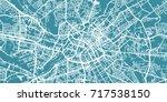 detailed vector map of... | Shutterstock .eps vector #717538150