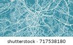 detailed vector map of... | Shutterstock .eps vector #717538180