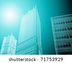 abstract architecture | Shutterstock . vector #71753929