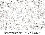 dark brown grunge background.... | Shutterstock . vector #717545374