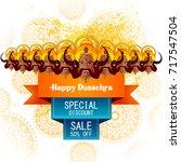 easy to edit vector... | Shutterstock .eps vector #717547504