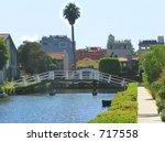 Venice  Ca Waterway