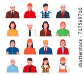 group of business people in...   Shutterstock .eps vector #717569710