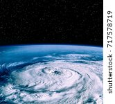 Hurricane On Earth From Space....