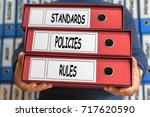 standards  policies  rules ... | Shutterstock . vector #717620590