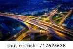 st. petersburg. russia. road... | Shutterstock . vector #717626638