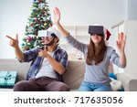 Happy Family Using Virtual...