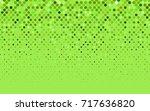 light green  yellow vector... | Shutterstock .eps vector #717636820