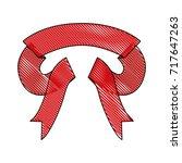 ribbon decorative colored... | Shutterstock .eps vector #717647263
