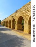 Small photo of An old Aqueduct, near Regba, design to deliver water to the city of Acre (Akko), Northern Israel. It was built on the years 1814-1815 by the Ottoman ruler Sulayman Pasha