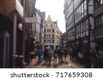 Stock photo beautiful summer view of hannover old town germany lower saxony 717659308