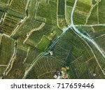 beautiful aerial landscape of... | Shutterstock . vector #717659446