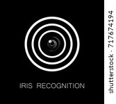iris recognition or retina...   Shutterstock .eps vector #717674194
