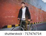 Portrait Of Young Man With...