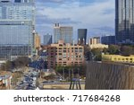 atlanta  georgia   january 15 ... | Shutterstock . vector #717684268