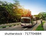 singapore   sep 17  2017  sbs... | Shutterstock . vector #717704884