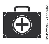 medical kit isolated icon | Shutterstock .eps vector #717709864