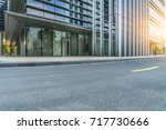 urban traffic road with... | Shutterstock . vector #717730666