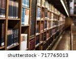 library   Shutterstock . vector #717765013