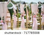 wedding setup | Shutterstock . vector #717785008