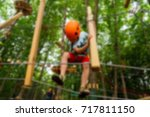 children's active recreation... | Shutterstock . vector #717811150
