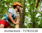children's active recreation... | Shutterstock . vector #717815128