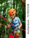 active children's recreation.... | Shutterstock . vector #717815158